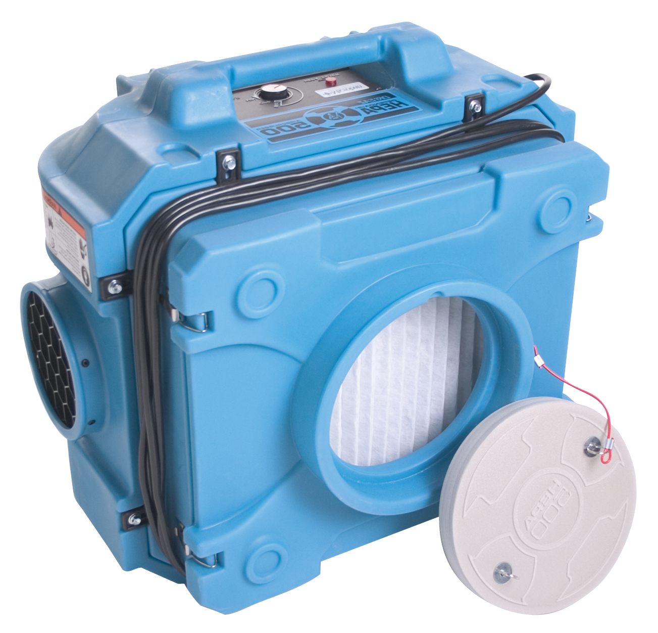 Hepa Air Scrubber : Hepa air filter and scrubber rental purification
